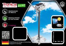 Tronico Metallbaukasten Windrad Motor Solarantrieb Solar Baukasten