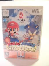 Mario & Sonic aux jeux olympiques (Nintendo Wii, 2007)