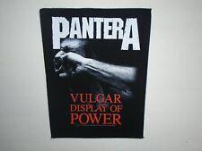 PANTERA VULGAR DISPLAY OF POWER PRINTED BACK PATCH