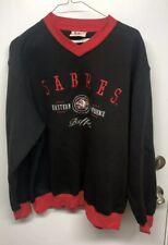 Vintage Buffalo Sabres Goat Head Crewneck Sweatshirt, Lee Sports, Sz L, NHL