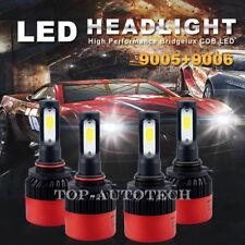 4X 9005 9006 LED Headlight Bulb 32000LM High Low Beam COB kit for GMC Dodge D16
