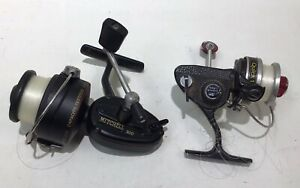 Lot 2 Vintage Spinning Reels - Mitchell 300 & Dam Quick 1000