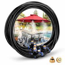 Misting Cooling System Kit For Greenhouse Garden Sprinkler Waterring 8M Outdoor