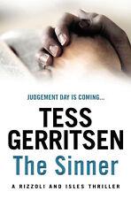 TESS GERRITSEN ____ THE SINNER __ BRAND NEW  __ FREEPOST UK