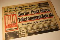 BILDzeitung 30.10.1963 Oktober Geschenk Geburtstag 57. 58. 59. 60. 61.