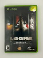 Loons: The Fight for Fame - Original Xbox Game - Complete & Tested