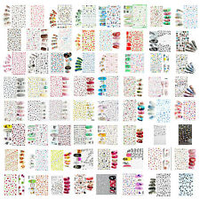 Self Adhesive Flower Stickers For Nail Art Decoration, Design Choice, UK Seller