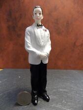Dollhouse Miniature Doll Man Groom Figurine F 1:12 scale E66 Dollys Gallery