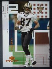 NFL 150 Joe Horn New Orleans Saints upper Deck Mvp 2002