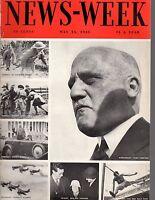 1933 Newsweek May13-Chinese man dies at 256;Swastika flag flies over Washington