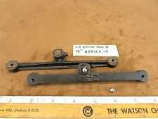 L C Smith No. 8 Typewriter Part: Frame Connector Arms, Bearings 1928 # 858126-12