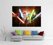 LEGO STAR WARS GIANT WALL ART PRINT PICTURE PHOTO POSTER J131