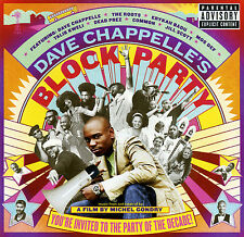 Various Artists DAVE CHAPPELLE'S BLOCK PARTY (Retail Promo CD) Uncensored (2006)
