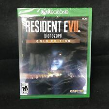 Resident Evil 7 biohazard Gold Edition (Xbox One,2017) BRAND NEW / Region Free