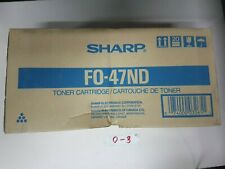 Genuine New Sharp FO-47ND Black Toner Cartridge