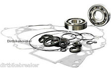 Kawasaki KX 500 (1986-1988) Engine Rebuild Kit, Main Bearings Gasket Set & Seals