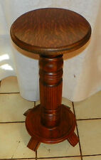 Quartersawn Oak Plant Stand / Fern Stand  (PS140)