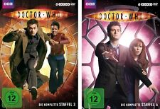 12 DVDs * DOCTOR WHO - SEASON / STAFFEL 3 + 4 IM SET # NEU OVP WVG