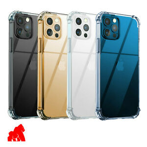 Phone Case For Oppo Find X2, Reno 4 Pro Shockproof Clear + Free Tempered Glass