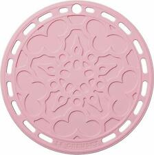 Le Creuset Silicone FRENCH TRIVET pot stand plate Powder Pink