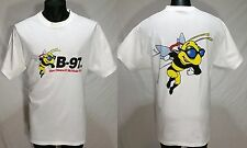 Vintage New Orleans Rock Radio B-97 fm T-Shirt Mens LARGE Bee Logo Tee