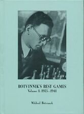 Botvinnik's Best Games - Vol. 1 - 1925 - 1941 (Chess Book)