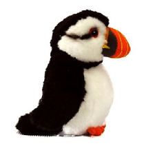 PUFFIN - FLUFFY SOFT REALISTIC PUFFIN PLUSH TEDDY LIVING NATURE TOY
