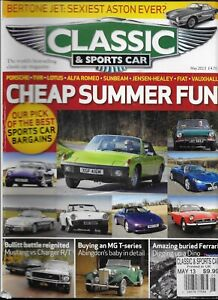 Classic And Sports Car Auto Magazine Porsche Lotus Alfa Romeo Sunbeam Fiat 2013