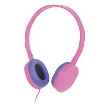 NEW Liquid Ears Le Kids Volume limited headphones for Kids PINK/PURPLE LE16KBRO