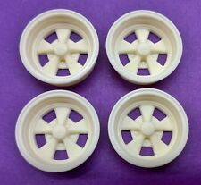 Resin 1/16 Scale Cragar S/S Mag Wheels - Standard Street Depth