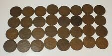 Lot 32 1936 Canada George V Small Cents Canadian Pennies C9