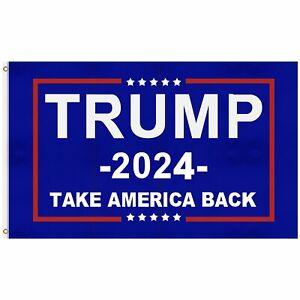 Trump 2024 President Flag Take Save America Back 3x5 Feet Donald MAGA Republican