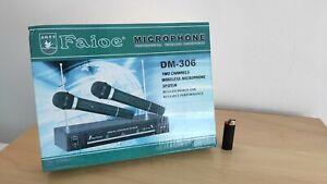 Faioe Mikrophone Funk DM-306 Zwei Stück / Wireless
