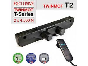 TWINMOT T2 Boxspringbett / Lattenrost Motor, Elektrisch + Fernbedienung 2x 4500N