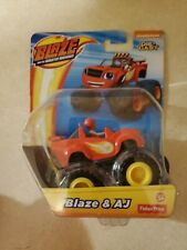 Nickelodeon Blaze And The Monster Machines BLAZE & AJ Die Cast Toy Vehicle NEW