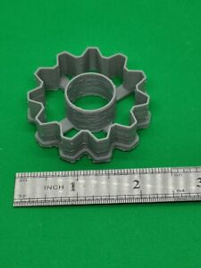 gear cog cookie cutter (small)