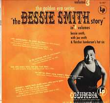 "BESSIE SMITH ""STORY VOLUME 3"" JAZZ BLUES 70'S LP  COLUMBIA 857 STEREO"