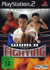 World Fighting - Wrestling Thai-Boxen für Sony Playstation 2 Ps2 Neuware