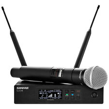 Shure QLXD24/SM58 Handheld Wireless Microphone System