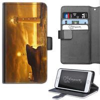 FARO Custodia per telefono, in pelle a libretto portafoglio, Cover for Samsung,