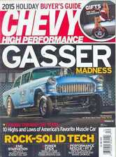CHEVY HIGH PERFORMANCE-DECEMBER 2015 (NEW/LATEST ISSUE)