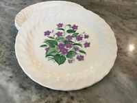 Royal Violet by Royal (USA) SET OF 3 BREAD & BUTTER PLATES
