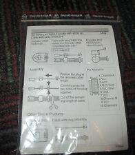 NEW MAXON ACCESSORY TO DIGITAL ENCODER 3409.504, MAKES ENCODER 3409 COMP W/ 3407