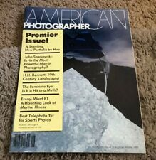 1978 American Photographer Magazine #1 Premier Issue