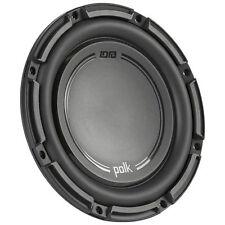 "1500W PAIR (2) Polk Audio DB 842 8"" Single 4-Ohm Car Audio Subwoofers DB+ Series"
