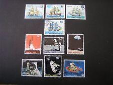 SAMOA, SCOTT # 503-506(4)+507-512(6),2-COMPLETE SETS 1978 SHIPS ISSUES MNH