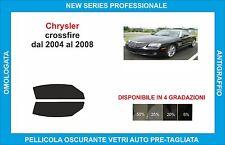 pellicole oscuranti vetri chrysler crossfire dal 2004 al 2008 kit anteriore
