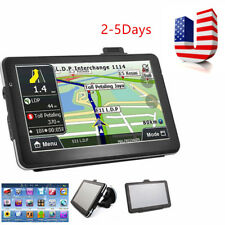 "USA 7"" Truck Vehicle Car Portable GPS Navigation Navigator SAT NAV 8GB Map Sale"