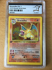 Carte Pokemon, Dracaufeu set de base édition 1, PCA 7, Wizards