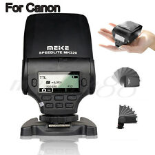 MeiKe MK-320 LCD E-TTL Mini Speedlite Master Slave Flash GN30 F Canon SLR Camera